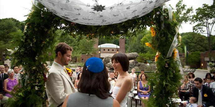 Prospect Park Zoo wedding Brooklyn