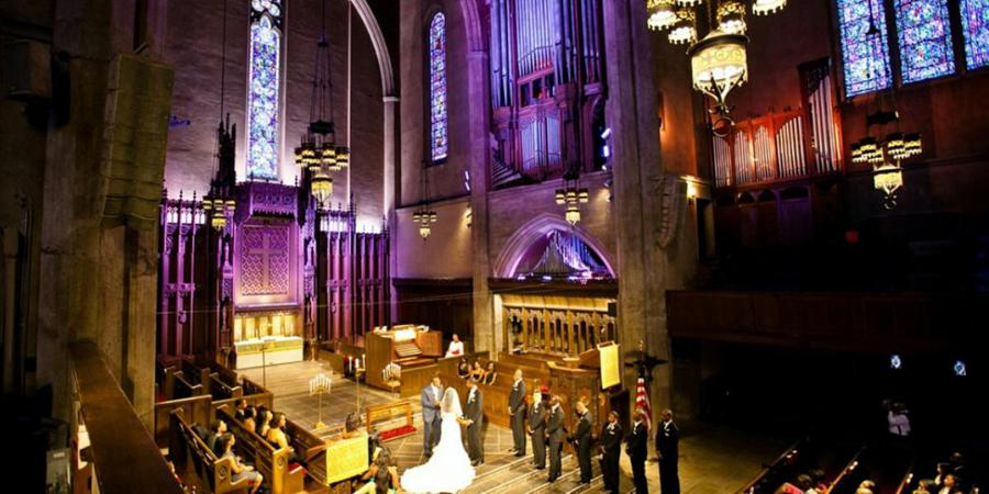 First Congregational Church of Los Angeles wedding Los Angeles