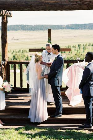 Spruce Mountain Ranch wedding Colorado Springs
