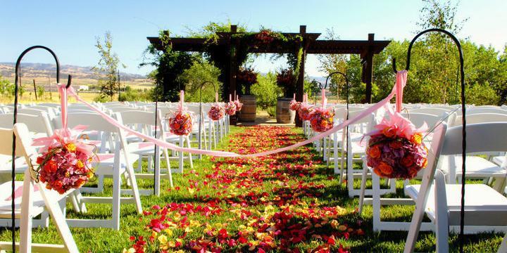 Martinelli Event Center, Garre Winery wedding East Bay