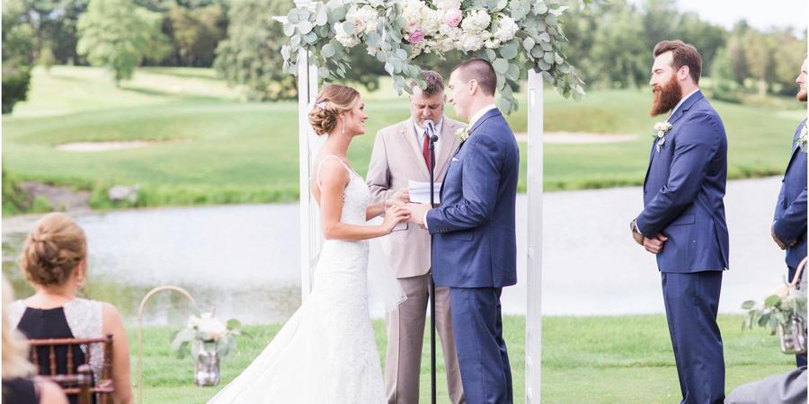 The Lazy Swan Golf and Country Club Village wedding Eastern Adirondacks/Lake Champlain