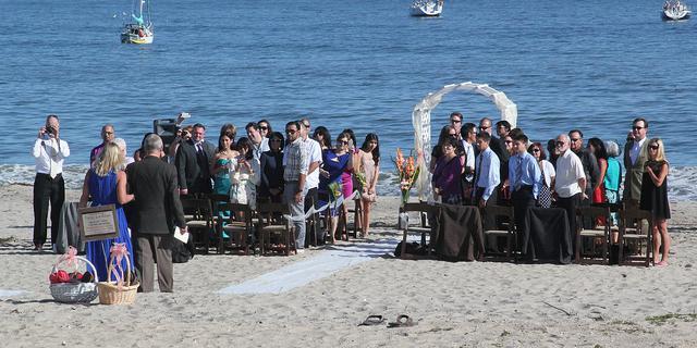Casa Las Palmas wedding Santa Barbara