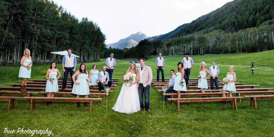 T-Lazy-7 Ranch wedding Aspen/Vail/High Rockies