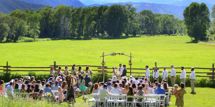 Hutchinson Ranch wedding Aspen/Vail/High Rockies