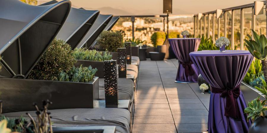 Andaz West Hollywood wedding Los Angeles