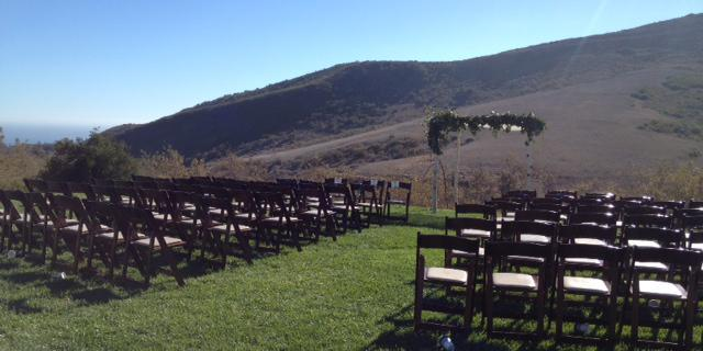 El Capitan Canyon wedding Santa Barbara