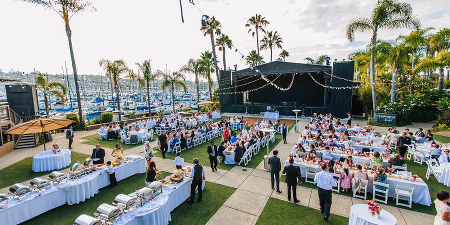 Humphreys Half Moon Inn & Suites wedding San Diego