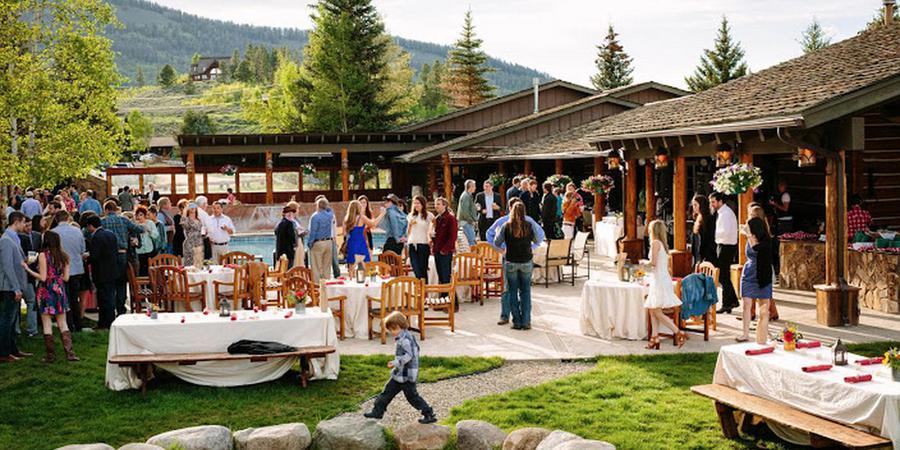 C Lazy U Ranch wedding Denver