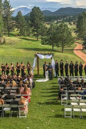 Shining Mountain Golf Club wedding Colorado Springs