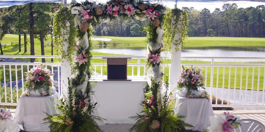 Harbor Pines Golf Club wedding Atlantic City