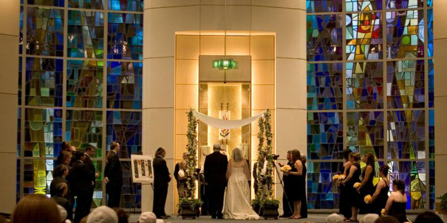University Synagogue wedding Los Angeles