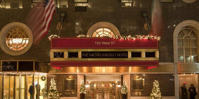 The Michelangelo Hotel wedding Manhattan