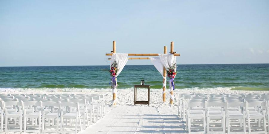 Seascape Golf, Beach, and Tennis Resort wedding Northwest Florida