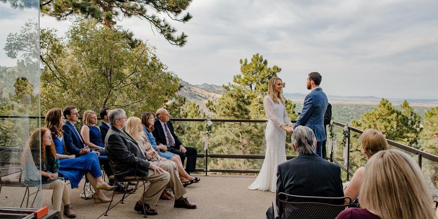 Flagstaff House Restaurant wedding Denver