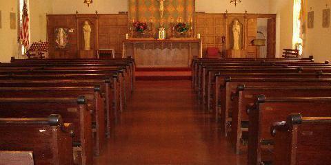 Holy Family Mission Church wedding Napa/Sonoma