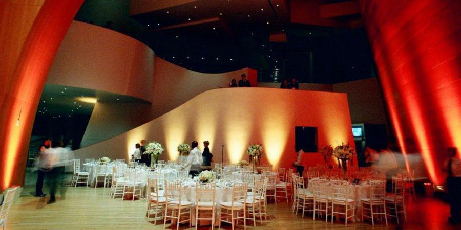 Walt Disney Concert Hall wedding Los Angeles