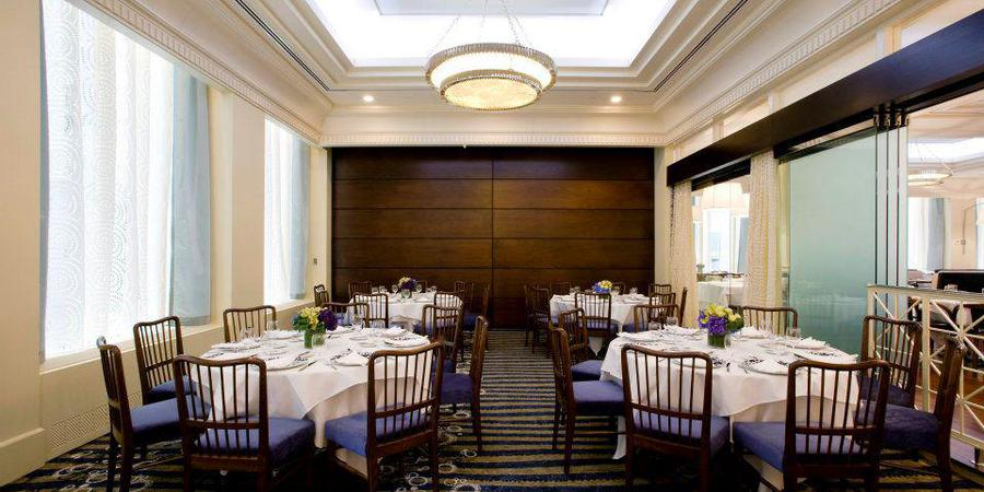 Oceana Restaurant wedding Manhattan