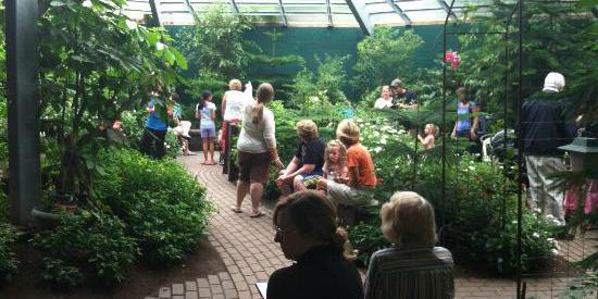The Butterfly Place wedding Central Massachusetts