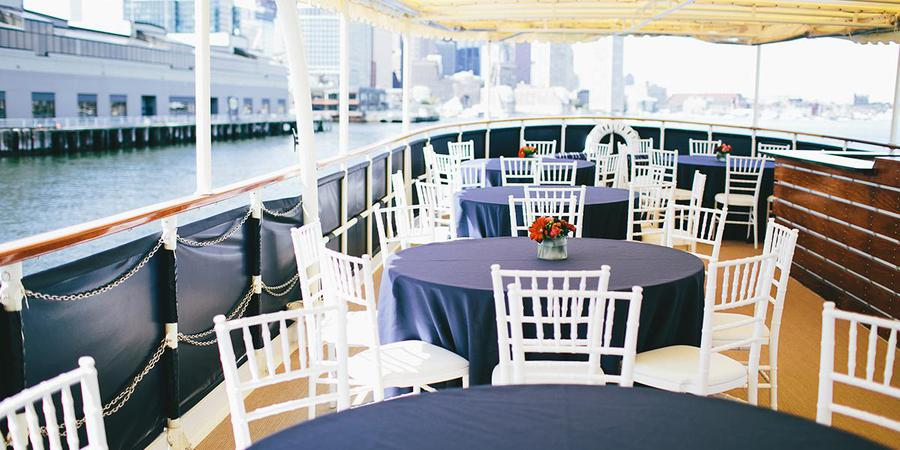 Charles Riverboat Company wedding Boston