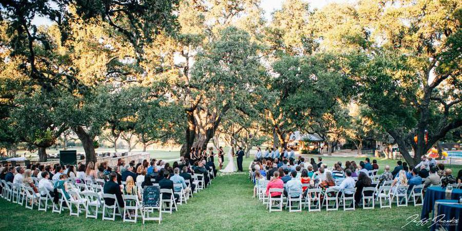 Fair Oaks Ranch Golf & Country Club wedding Hill Country