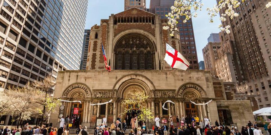 St. Bartholomew's Church wedding Manhattan