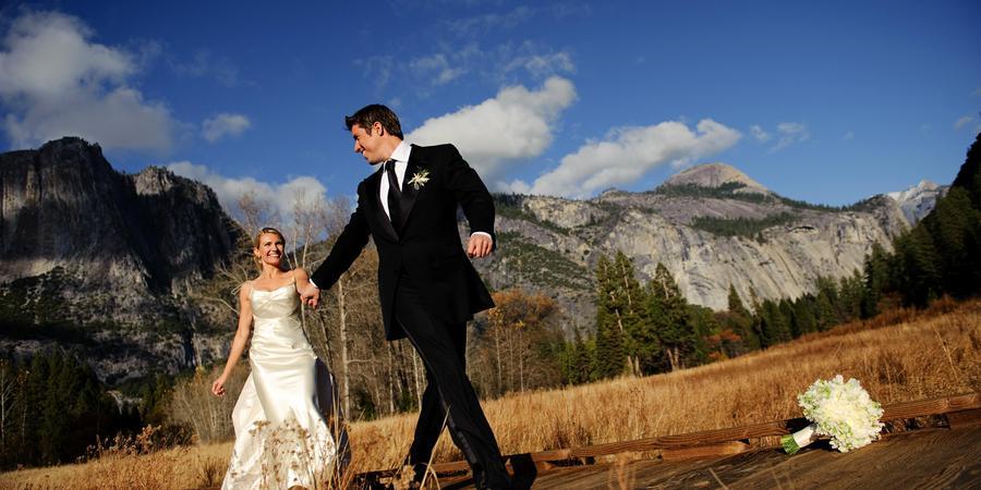 Curry Village wedding Yosemite