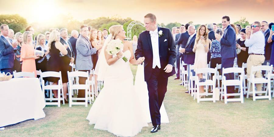 Walnut Creek Country Club wedding Dallas