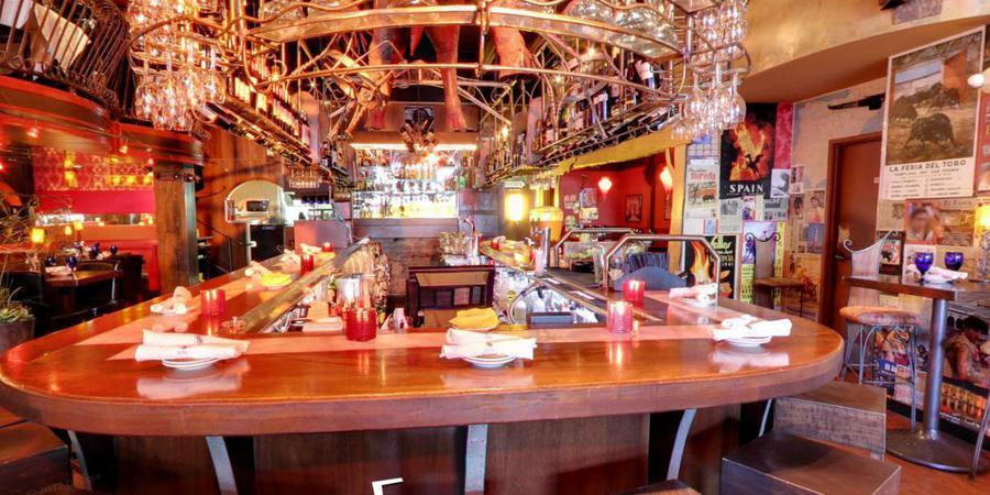 Café Sevilla Long Beach wedding Los Angeles