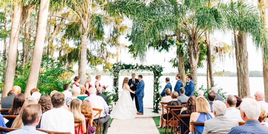 Paradise Cove Orlando wedding Orlando