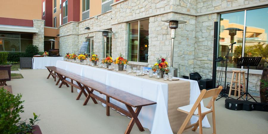 Cascades Conference Center wedding Dallas