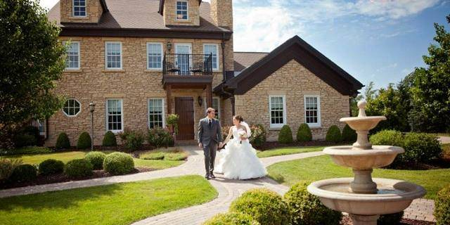 The Pavilion at Orchard Ridge Farms wedding Chicago