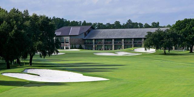 Arnold Palmer's Bay Hill Lodge wedding Orlando