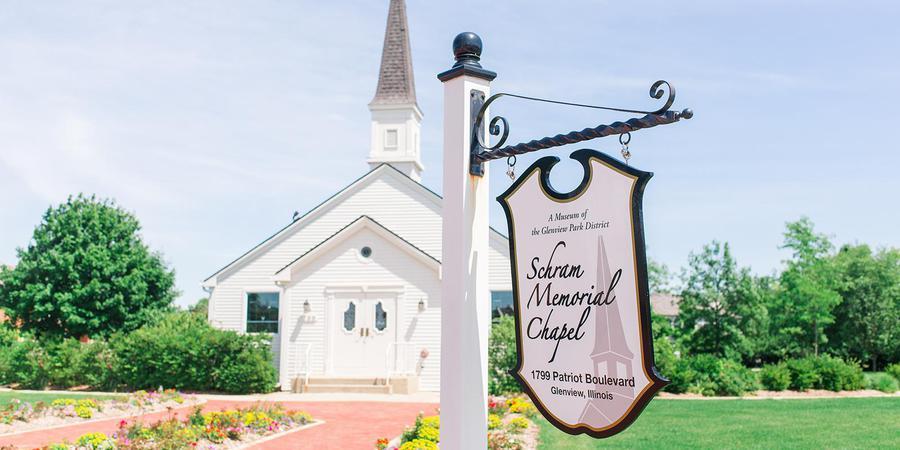 Schram Memorial Chapel wedding Chicago