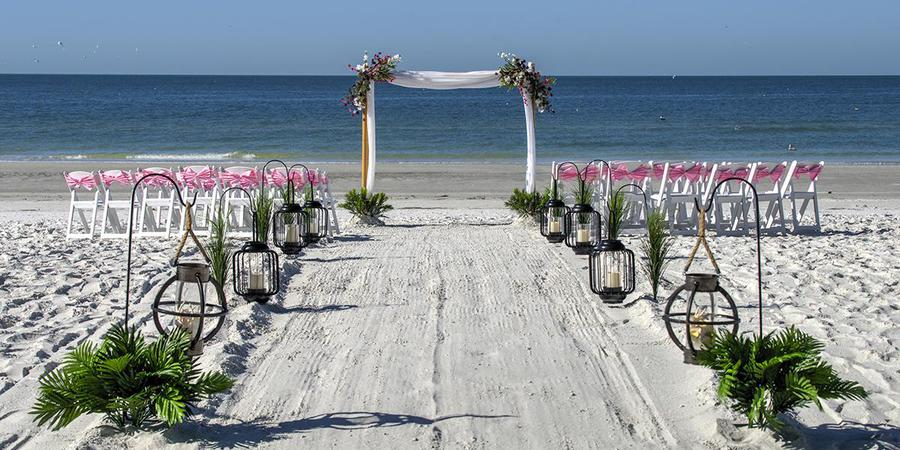DoubleTree Beach Resort by Hilton wedding Tampa