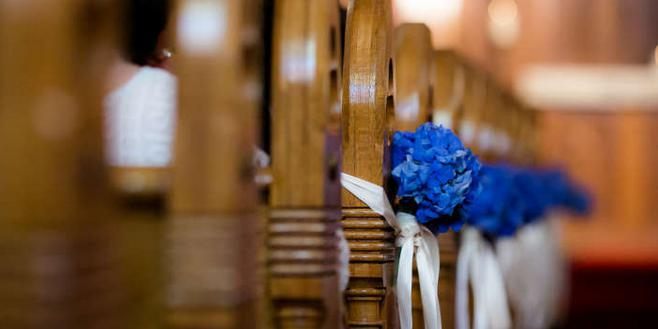 LaSalle Street Church wedding Chicago