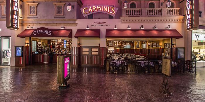 Carmine's Las Vegas wedding Las Vegas