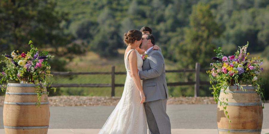 Helwig Winery and Vineyards wedding Sacramento