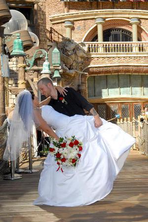 Treasure Island Wedding Chapel wedding Las Vegas