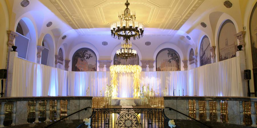 Museum of American Finance wedding Manhattan