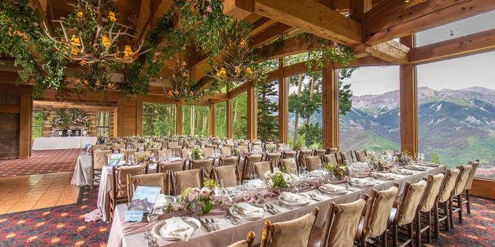 Allred's Restaurant wedding Aspen/Vail/High Rockies