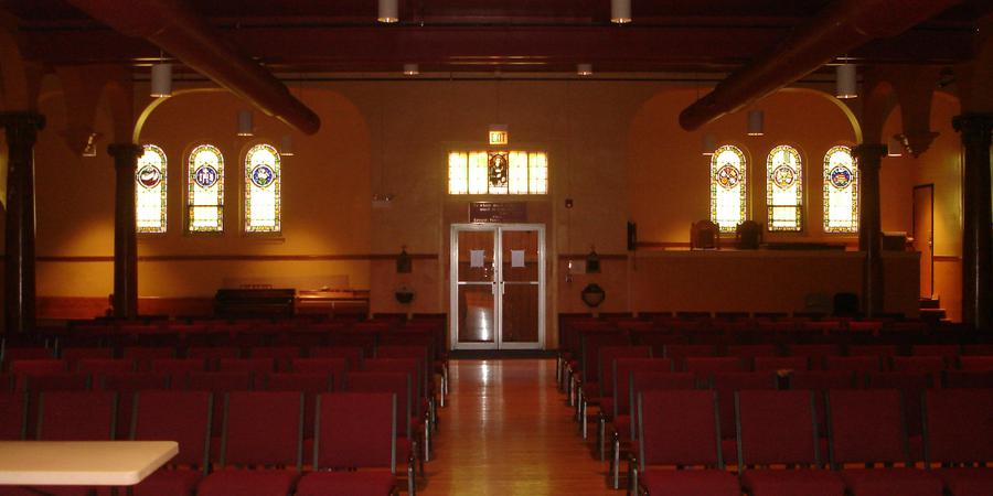 The Willis Chapel at Chicago Hope Academy wedding Chicago