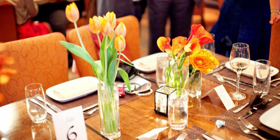 Pera Mediterranean Brasserie wedding Manhattan