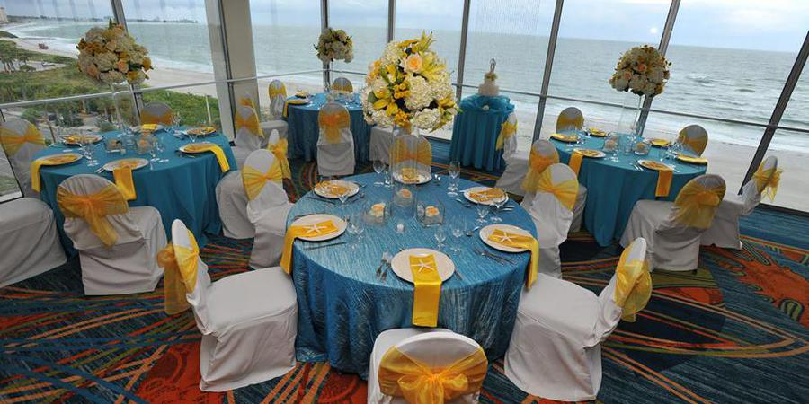 The Holiday Inn Lido Beach wedding Tampa