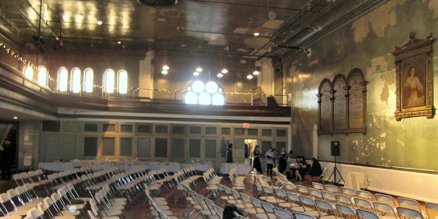 Irondale Center wedding Brooklyn