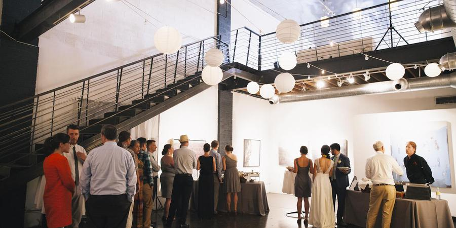 POINT Gallery wedding Denver