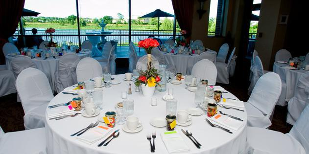 Lakeview Room at Glenview Park District wedding Chicago