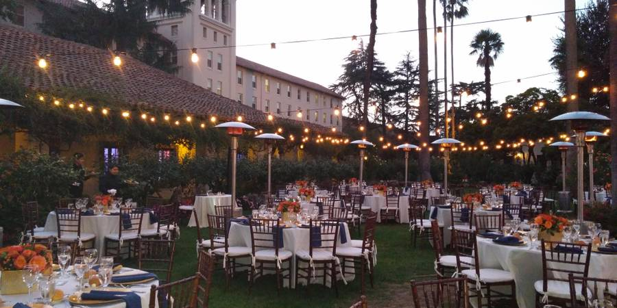 Adobe Lodge at Santa Clara University wedding South Bay