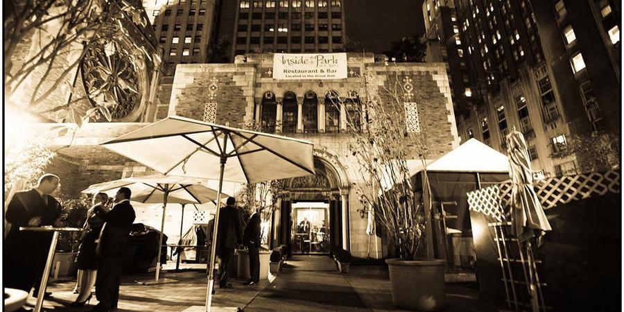 Inside Park at St. Bart's wedding Manhattan