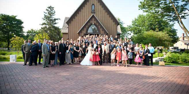Century Memorial Chapel at Naper Settlement wedding Chicago