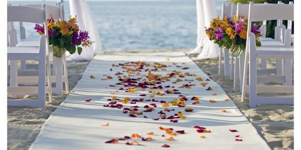 Key West Marriott Beachside Hotel wedding Florida Keys